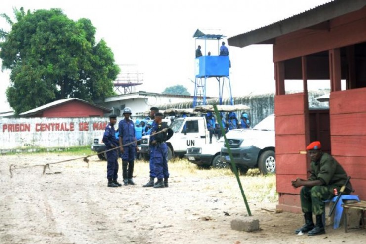 Prison de Makala en RDC