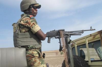 Soldat camerounais à Maroua
