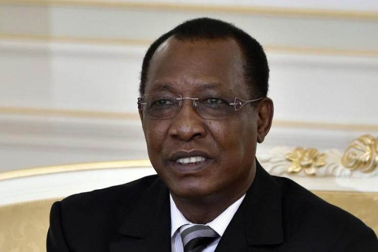 Idriss Déby, président tchadien