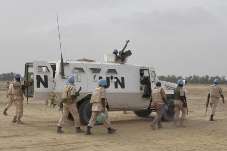 Casques bleus Mali