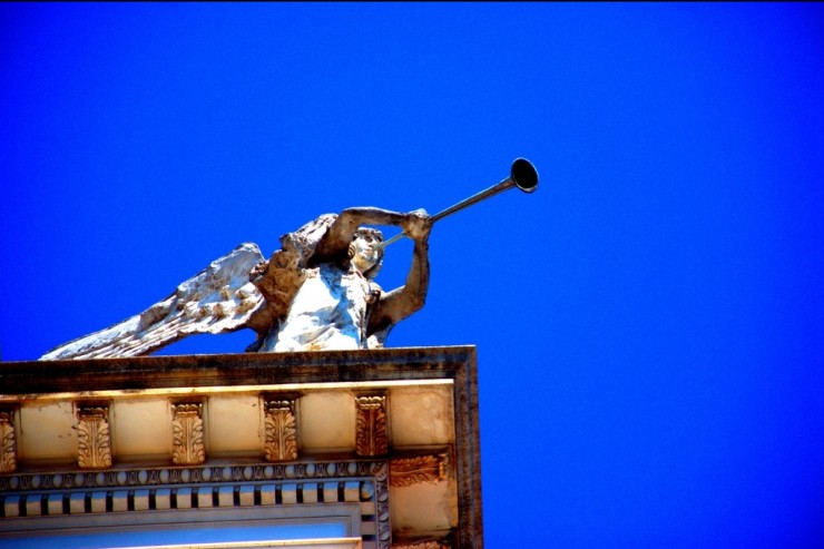 Statue d Ange