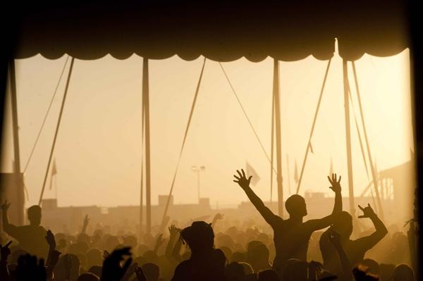 Festival dans le désert