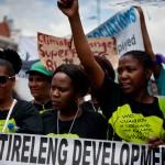Marche contre changement climatique