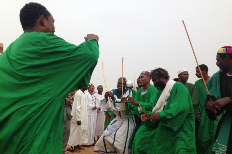 Derviches au Soudan