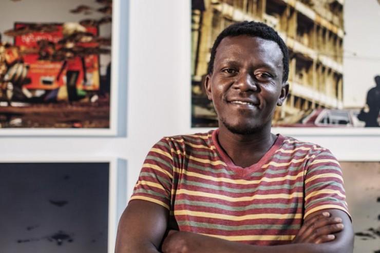L'artiste Kiripi Katembo