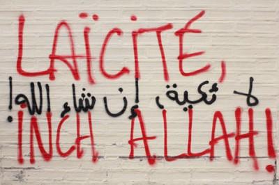 Capture d'écran film Laïcité Inchallah de Nadia El Fani