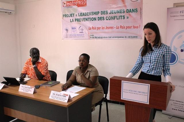 Colloque prévention de conflits ONG ESD