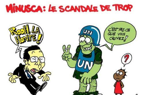 Article : Minusca : Ban Ki-moon entre honte et consternation