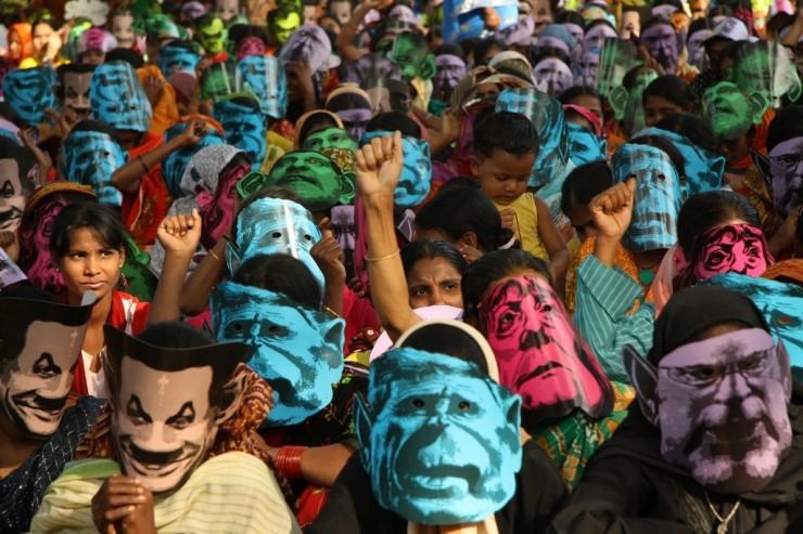 Changement climatique manifestation Bengladesh