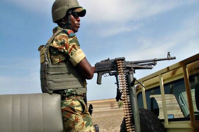 Un soldat camerounais dans l'Extrême-Nord du Cameroun