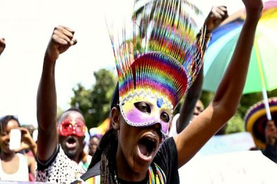 Femme africaine homosexuelle
