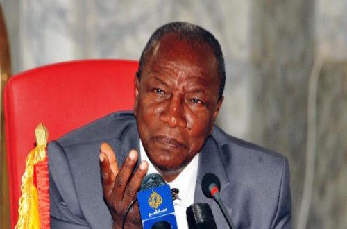 Article : Guinée : des candidats à la présidentielle sans projet de société