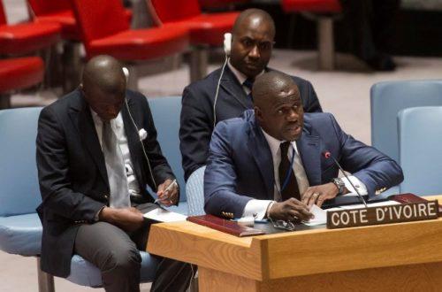 Article : L'ambassadeur ivoirien aux Nations unies chassé !