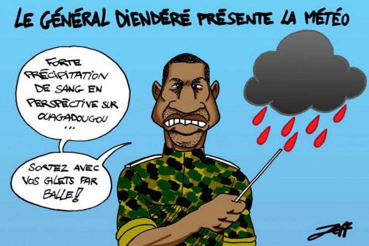 Le général Dienderé, ancien chef d'état-major de l'ex-président Compaoré a pris le pouvoir