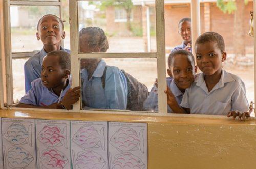 Article : L'école parmi les déplacés de guerre au Katanga