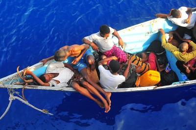 Migrants Somaliens