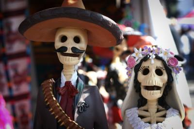 Dia de los muertos Mexique