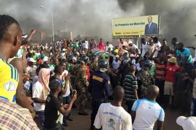 Affrontement Madina Guinée