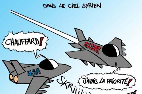 Article : En Syrie, les Etats-Unis et la Russie s'évitent dans le ciel