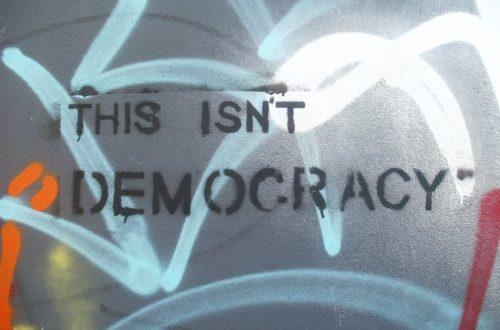 Article : Démocratie, tais-toi !