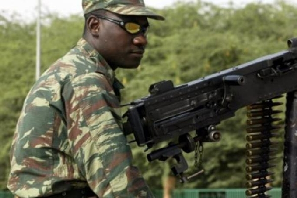militaire mauritanie