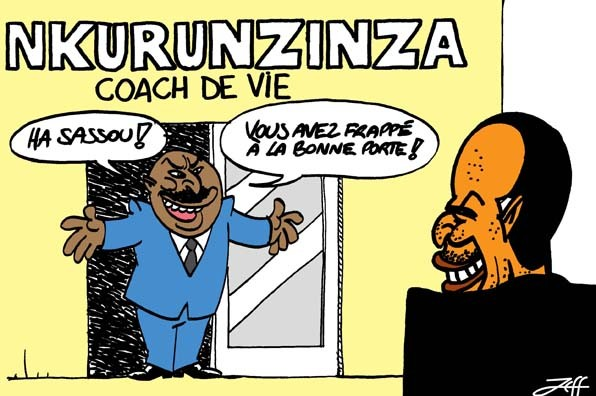 Nkurunzinza coach de vie