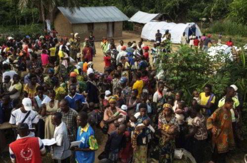 Article : La crise centrafricaine provoque un nouvel afflux de réfugiés en RDC