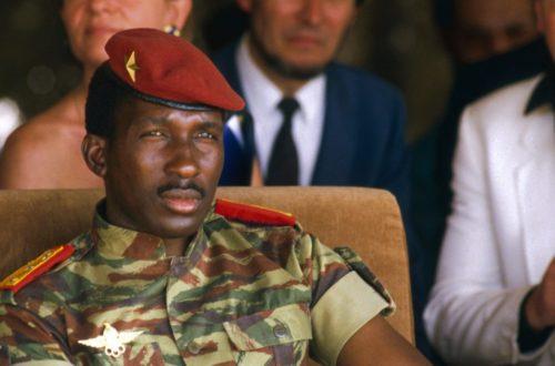Article : Sankara, l'empêcheur de dormir