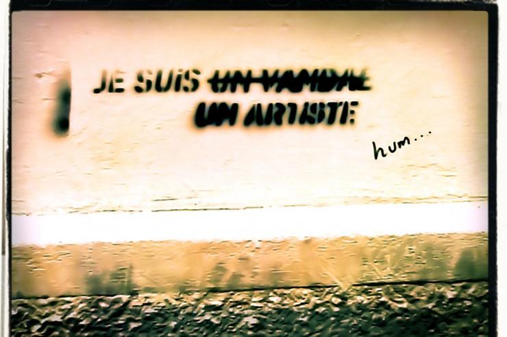 Tag Je suis un vandal, un artiste