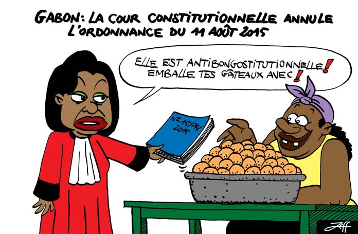 Gabon constitution