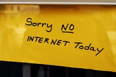 Ma semaine sans internet