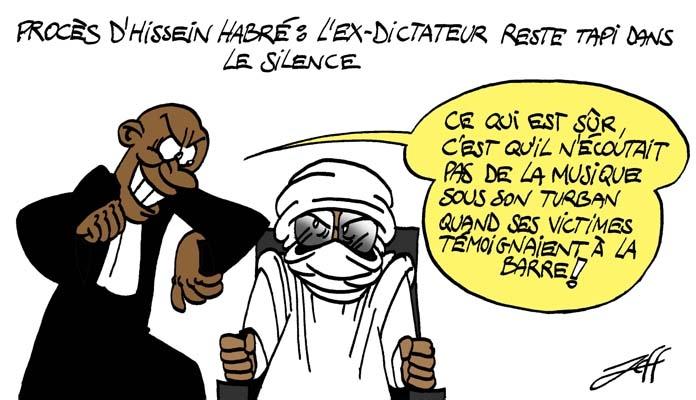 Le procès d'Hissein Habré