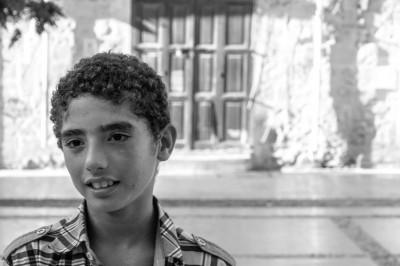 Enfant libanais dans les rues de Beyrouth