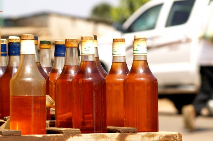 Essence en bouteille au Tchad