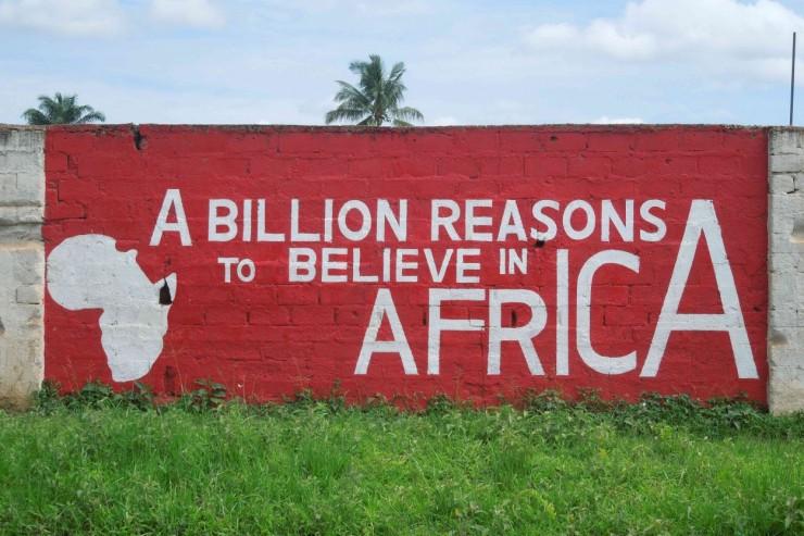 Une peinture murale panafricaniste