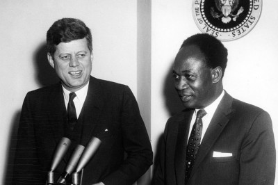 Kwame Nrkrumah et John F. Kennedy