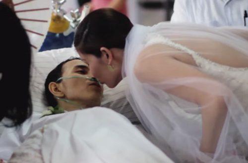 Article : Le mari dans sa robe blanche