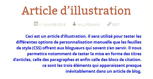 Tuto CSS 1 - llustration (Paragraphe)