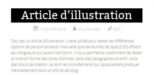 Tuto CSS 1 - llustration (Titre)