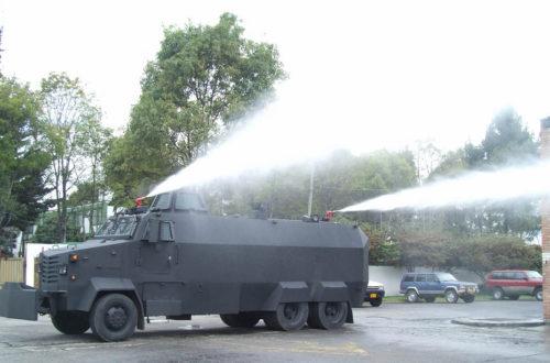 Article : La police congolaise s'équipe en matériel anti-émeute