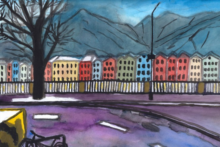Innsbruck en hiver