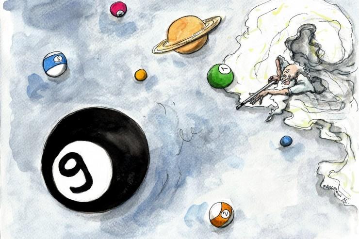 Une neuvième planète existerait dans notre système solaire