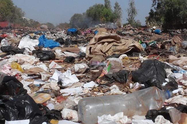 Les ordures ont inondé la ville de Ouagadougou
