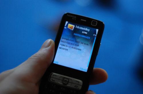 Article : Inquiétants SMS de mise en garde contre le terrorisme