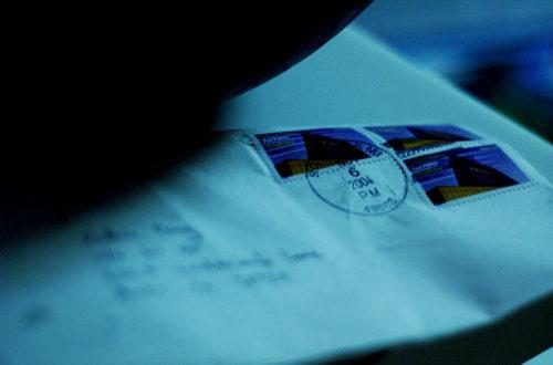 Article : Lettre à une amante en voyage