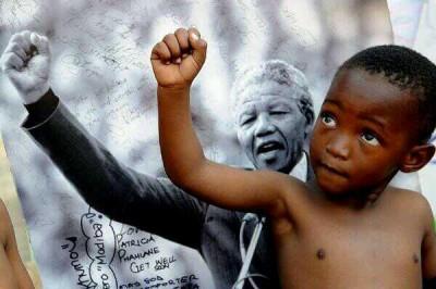 Mandela point levé
