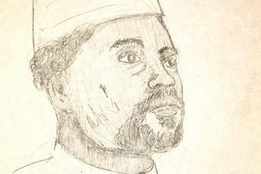 Portrait dHissène Habré