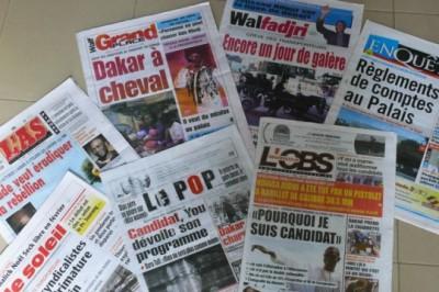 Journaux sénégalais