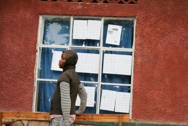 Bureau de vote en Afrique