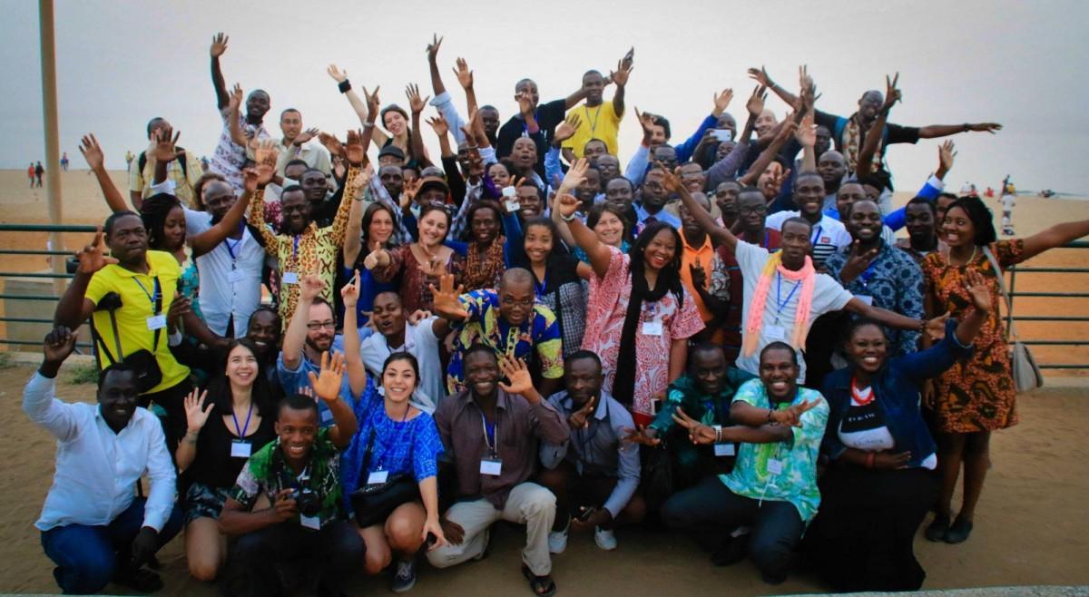 Les Mondoblogueurs de la saison 4 à Dakar, en 2015